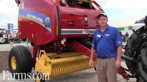 new holland roll belt 450 round baler preview at farm progress