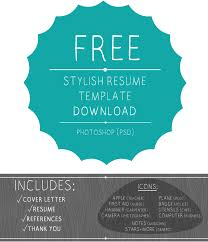 Resume Template Psd Free Artistic Resume Templates Resume Template And Professional