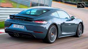 blue porsche 2017 2017 porsche 718 cayman graphite blue metallic design u0026 racetrack