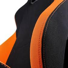 siege orange siège gaming nitro concepts s300 noir et orange tissu fauteuilgamer