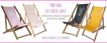 Tissu Pour Chilienne Chaises Longues Trop Chic Les Toiles Chics