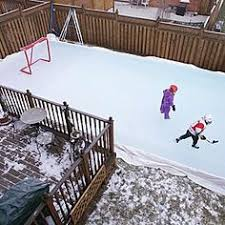 Build A Backyard Ice Rink How To Build A Backyard Rink Cold Weather Backyard And Weather