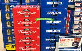 bud light for sale free budweiser or bud light 8 money maker at riteaid