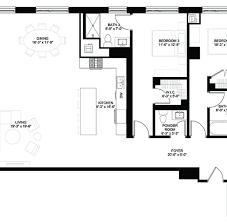 Powder Room Plans Luxury Condos Lincoln Park Webster Square Condos