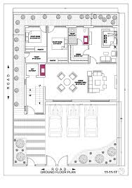 ground floor first floor home plan house map plan 45 65 ground floor first floor second floor by