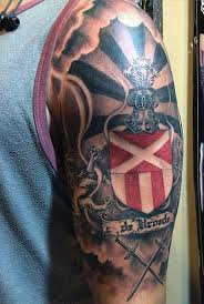50 family crest tattoos for proud heritage designs family