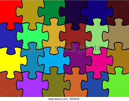 cymk puzzle generated jigsaw puzzle stock photos generated jigsaw puzzle stock