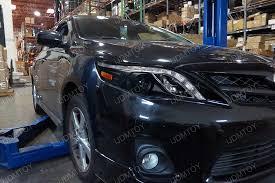 2012 toyota corolla custom 12 toyota corolla black projector headlights with r8 led style
