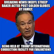Breaking News Meme Generator - meme creator breaking news meryl streep baker acted post golden