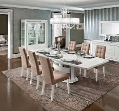 High Gloss Extending Dining Table White High Gloss Extendable Dining Table Ef Blanca Modern Dining