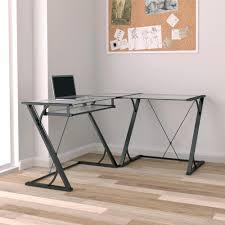 Computer Desk In Black Corner Desks Home Office Furniture The Home Depot