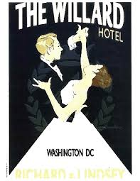 Washington travel photo album images Vintage wedding poster the willard intercontinental hotel jpg