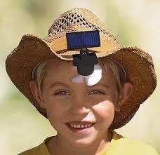 hat with fan built in the solar hat fan