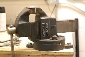 Mounting A Bench Vise How To Take Apart Lube U0026 Mount A Bench Vise