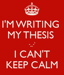 Thesis online nz The Grad Student Way How to Write a Thesis