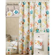 Fish Curtains Rainbow Fish Shower Curtains And Hooks Rainbow Fish And Shower