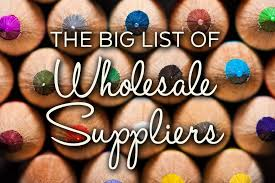 the big list of wholesale suppliers craft industry alliance