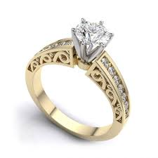 engagement rings yellow gold riveting yellow gold engagement rings cartier tags yellow gold
