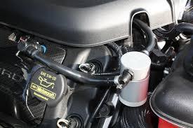 2014 Mustang Gt Black Jlt Oil Separator Kit Passenger Side Black Anodized 2011 2014