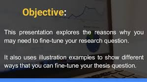 Dissertation Workshop How to design and carry out a quantitative Research Questions get specific n If your research question is looking a bit vague     ASB Th  ringen