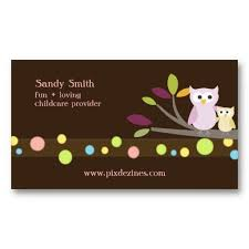 childcare business cards 20 best child care business cards images on business