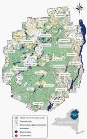 Prospect Park Map About The Adirondack Park Adirondack Council