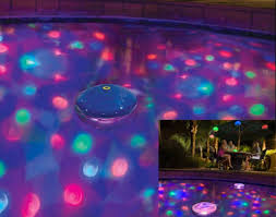 floating led pool lights color changing disco ball led waterproof light show for spa swimming