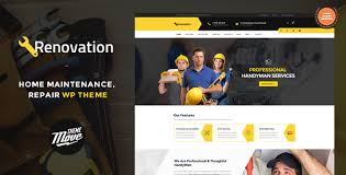 renovation theme renovation v1 3 8 home maintenance repair service theme free