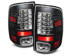 2015 dodge ram 1500 tail light bulb replacement axial ram black led tail lights r101180 09 17 ram 1500 free shipping