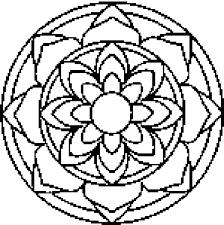 ideal mandala coloring pages free printable coloring