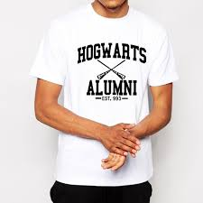 hogwarts alumni t shirt free shipping hogwarts alumni est t shirt continental fashion t