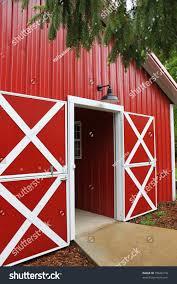 Red Barn Door by Red Barn Stock Photo 78846310 Shutterstock