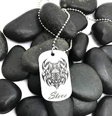 Personalized Dog Tag Necklaces Custom Dog Tag Necklace Personalize It U2013 Anomaly Creations