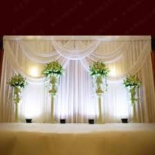 wedding stage decoration materials wedding stage