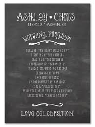 wedding program board chalk wedding programs happy board wedding programmes