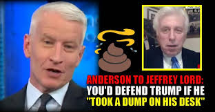 Anderson Cooper Meme - video anderson cooper to jeffrey lord you d defend trump if he
