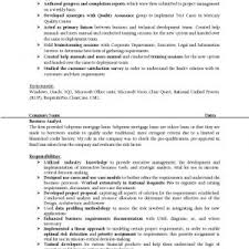 systems analyst resume doc cover letter senior business analyst resume sample senior business