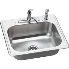 dayton elite stainless steel sink elkay dse125224df dayton elite stainless steel single bowl top mount
