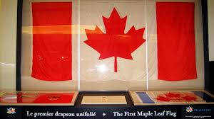 Candaian Flag The First Maple Leaf Canadian Flag Of 1965 Canada 2 Days To