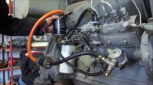 purgado de un motor diesel youtube
