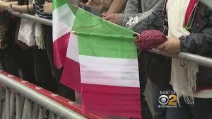 italian american pride marches down 5th avenue in columbus day