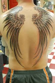 angel wings back tattoos for men 7 tattoos blog tattoos blog