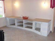 realiser une cuisine en siporex meuble de cuisine en beton cellulaire deco interieur