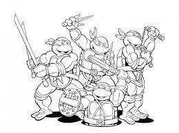 printable ninja turtle coloring 32651