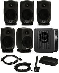 Studio System Genelec 8320 Lse Surround Sam 5 1 Powered Studio Monitor System