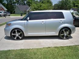 scion xb 20x8 5 with 225 35 20 fit on stock xb scion xb forum