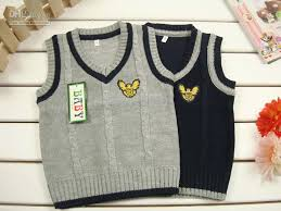 2017 knitting wood baby vest baby boy vest with eagle brand 2012