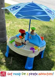 step 2 sand and water table summer fun with step2 high seas adventure sand water table with