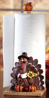 themed paper towel holder fall kitchen towels festive fall turkey decorative paper towel