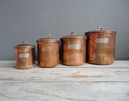 cool kitchen canisters 53 images set of metal kitchen